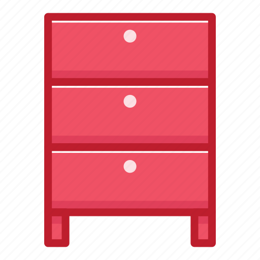 cupboard, furniture, household, interior, office, stuff, table icon