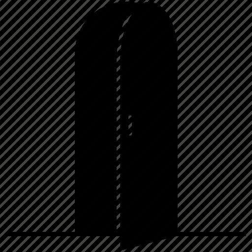 door, frame, open, wooden icon