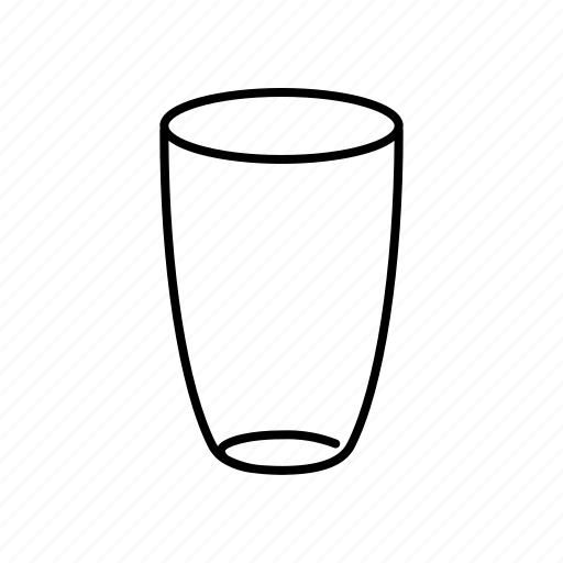 cup, drink, glass, tumbler icon