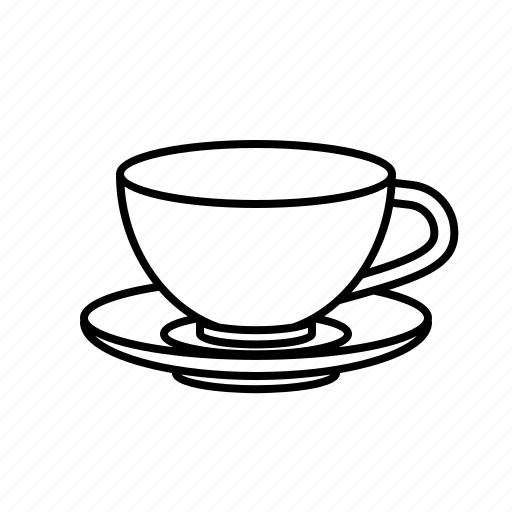 cup, drink, saucer, tea, teacup icon