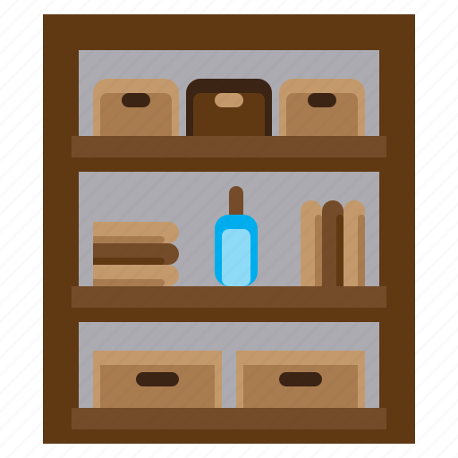 building, cabinets, estate, furniture, home, house, rack icon