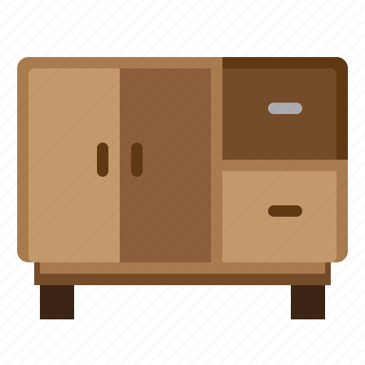 Belongings, furniture, home, household, households, table, television icon - Download on Iconfinder