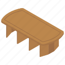 dining table, dinner table, household table, lounge table, restaurant table icon