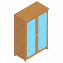 cabinet, wardrobe, almirah, cupboard, clothes cabinet icon