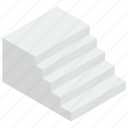 exterior stairs, home stairs, staircase, stairs, stairs steps icon