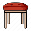 design, furniture, home, interior, stool, style, tabouret icon
