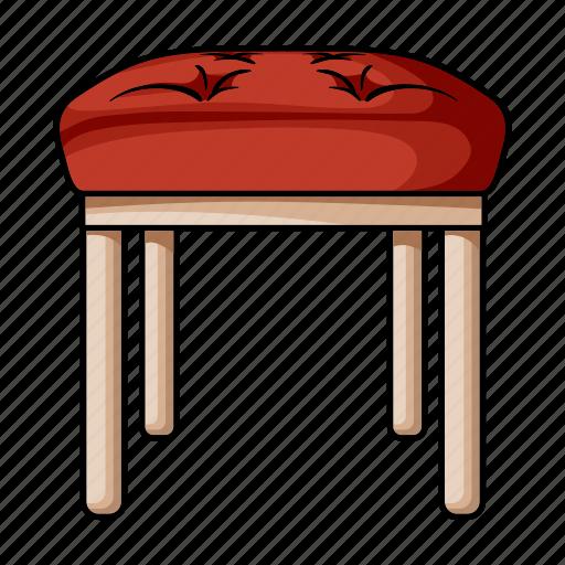 design, furniture, home, interior, stool, style, tabouret icon