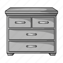 chest, design, drawers, furniture, interior, object, room icon