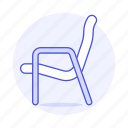 blue, chair, chairs, fublrniture, light, modern, objects, sofa, sofas icon