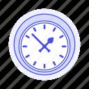 classic, clock, clocks, furniture, objects, wall icon