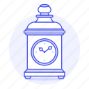 carriage, clock, clocks, desk, furniture, mantel, objects, old, retro, shelf, vintage