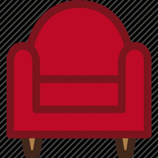 armchair, couch, furniture, interior, sofa icon