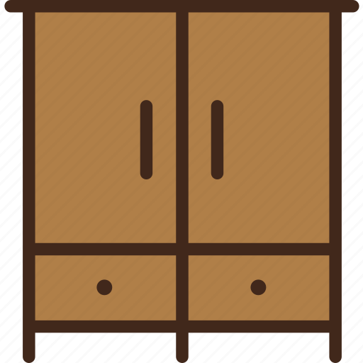 closet, clothes, furniture, wardrobe icon
