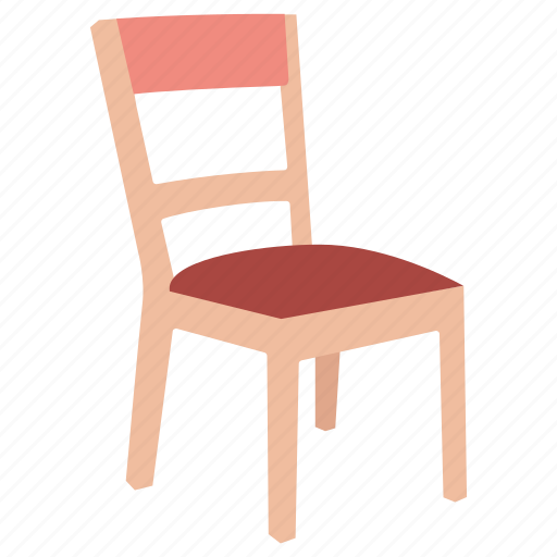 basic, chair, furniture, kids, school, seat, wooden icon