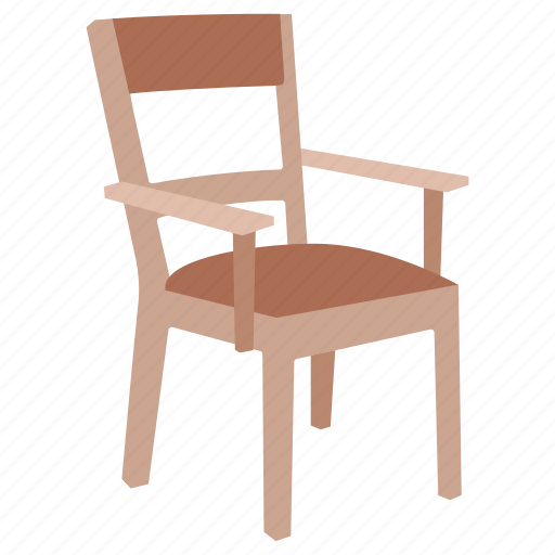 armchair, basic, chair, furniture, kids, seat, wooden icon