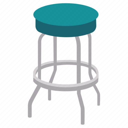 bar, chair, furniture, seat, stool, tall icon