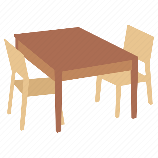 desk, dining, furniture, interview, kitchen, table icon