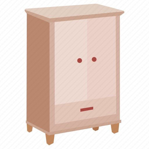cabinet, clothes, cupboard, furniture, linen, wardrobe icon