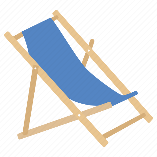 Beach, chair, deck, deckchair, folding, furniture, outdoor ...