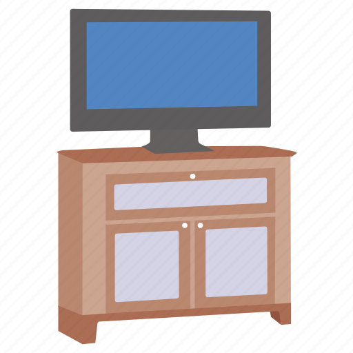 Cabinet, furniture, stand, television, tv, video icon - Download on Iconfinder