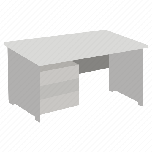 desk, furniture, office, station, study, table, work icon