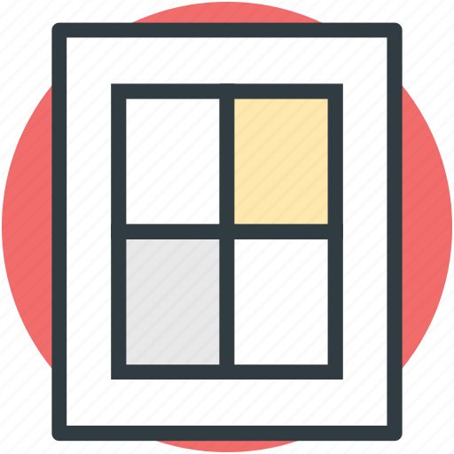 apartment window, furniture, home window, window, window frame icon