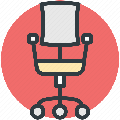 Chair, furniture, office chair, revolving chair, swivel chair icon - Download on Iconfinder