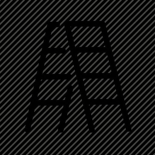 Climb, furniture, height, household, ladder, step ladder, stepladder icon - Download on Iconfinder