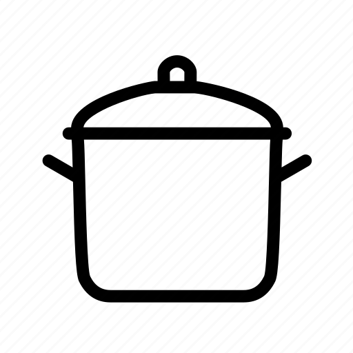 cooking, cooking pot, furniture, household, kitchen, pot, soup icon