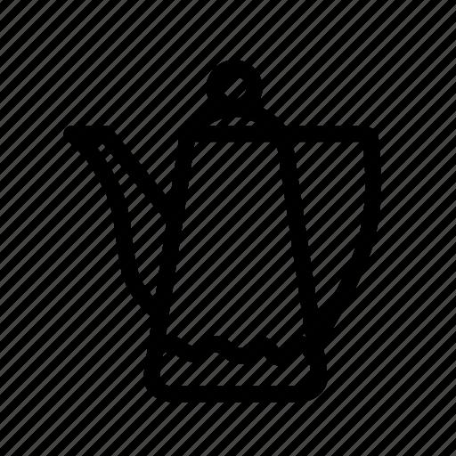 boiled, coffee, coffee pot, furniture, gooseneck kettle, household, pot icon