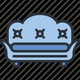 furniture, home, household, livingroom, room, sofa icon