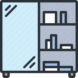 drawers, furniture, home, household, room, wardrobe icon