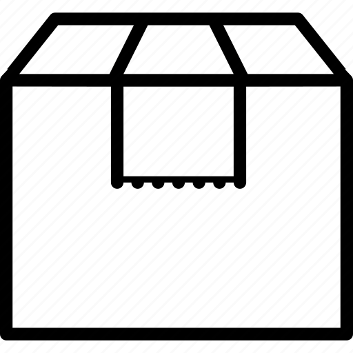 box, furniture, home decorations, house, transportation icon