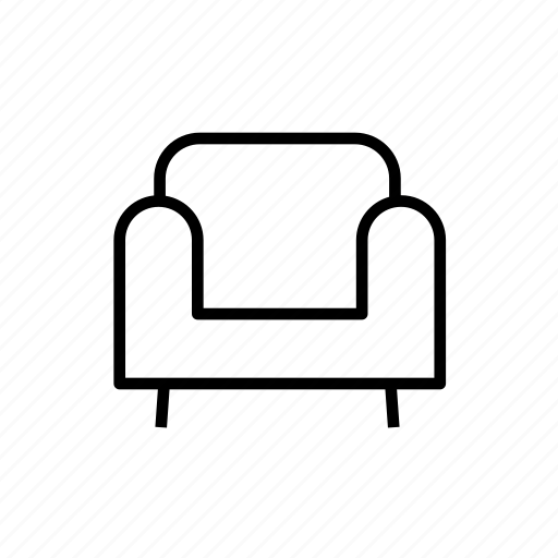 armchair, armchair004, chair, furniture, seat, sofa icon