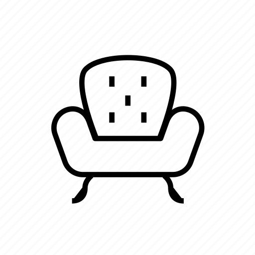 chair, chair005, furniture, seat, sitting, sofa icon