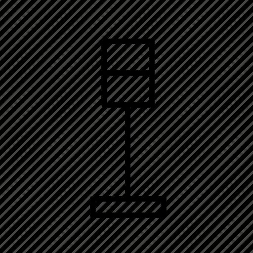 furniture, lamp, lamp003, light, lighting, modern lamp icon