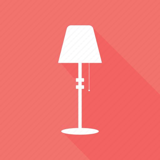 desk lamp, desk light, lamp, lamp light, table lamp icon