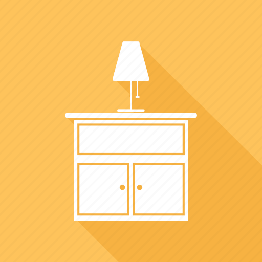 Desk, furniture, lamp, office, table icon - Download on Iconfinder
