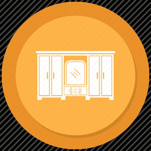 closet, cupboard, safe almirah, storage cabinet icon