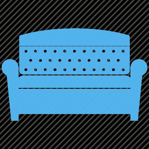 chair, seat, settee, sofa icon