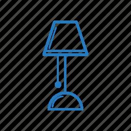lamp, light, off, on icon