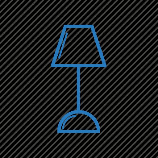 lamp, light, modern icon