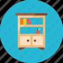 2, bookshelf icon