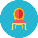 3, chair icon