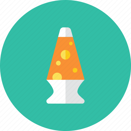 lamp, lava icon