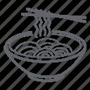 food, bowl, ramen, tonkatsu, noodles, japan
