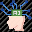 artificial, intelligence, brain, ai, automaton, technology