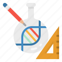 baby, design, dna, firms, reading icon