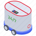 artificial intelligence, delivery robot, robot logistics, robotic technology, shipping robot