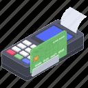 cash till, point of services, pos, pos receipt, pos terminal icon